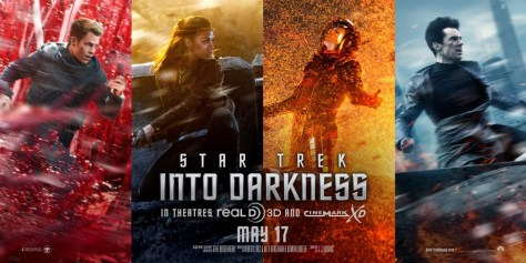 Star Trek Into Darkness karakterposters