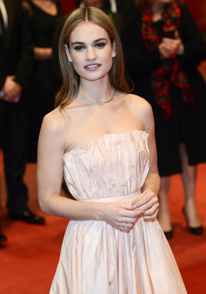 Lily James Picture 31 65th Berlin International Film