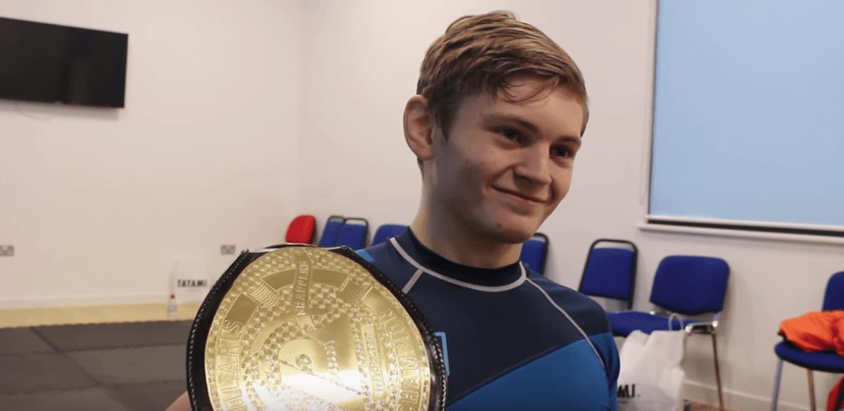 BJJ champion Nicky Ryan Aces BJJ