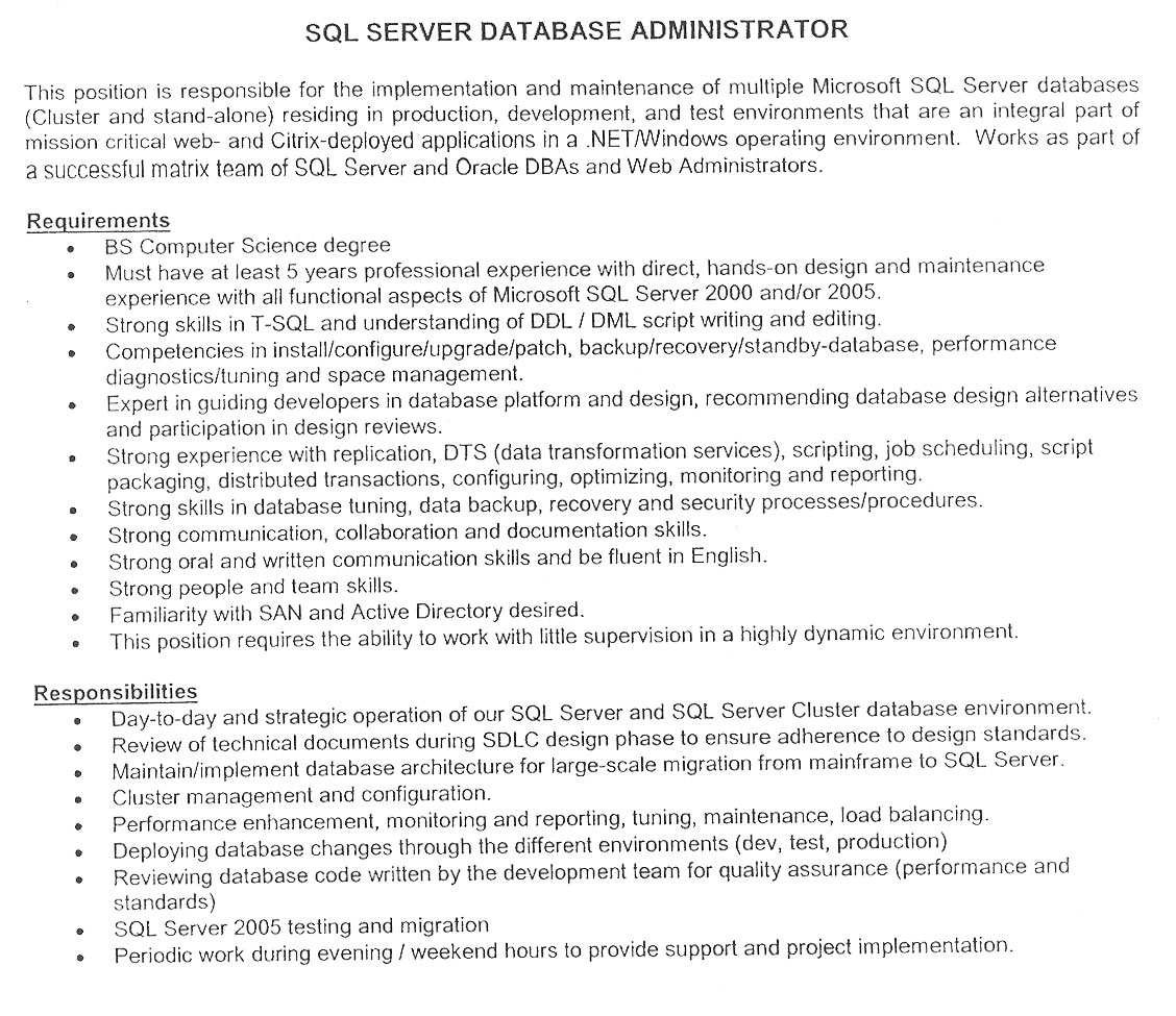 Doc1 developer resume