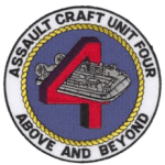 US Navy Assault Craft Unit 4