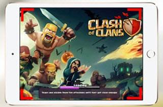 iPad-Spiele aufnehmen