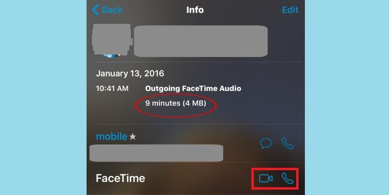 Facetime-Anruf starten