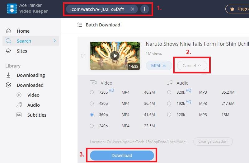 download naruto vk step2