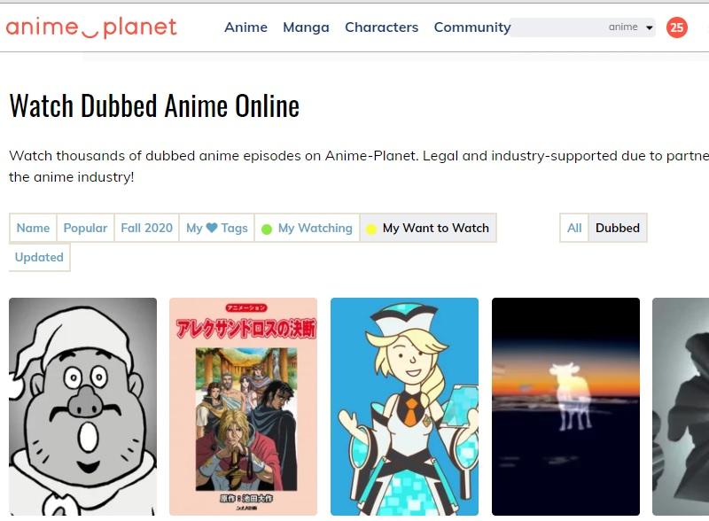 Animeplanet-Schnittstelle