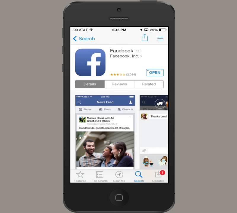 Facebook-Video wird nicht abgespielt Facebook herunterladen