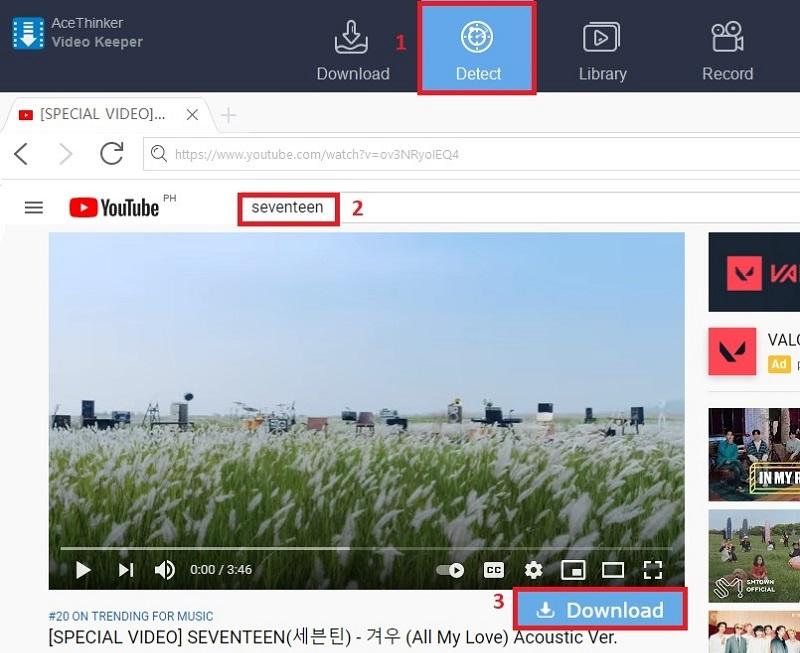 anzeige kostenlos ansehen youtube vk step3