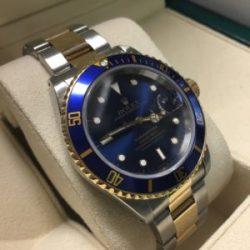 Gents Rolex 2 Tone Submariner