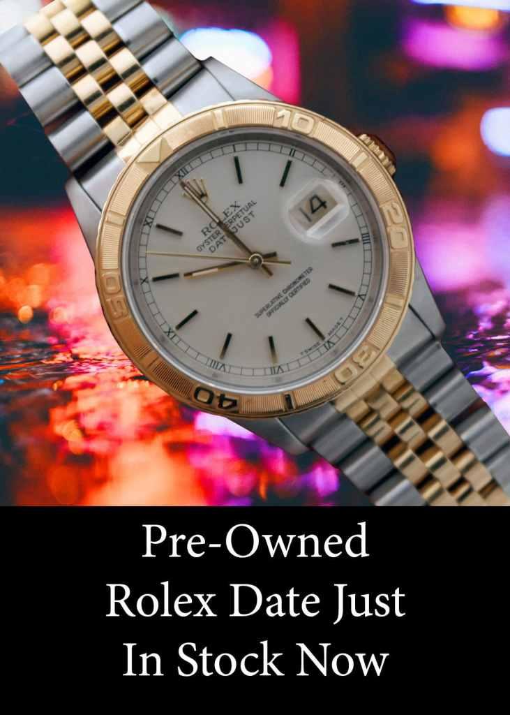 Rolex 2 Tone Date Just