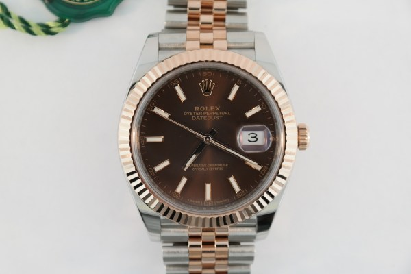 Rolex Datejust 41 126331 Two-Tone Chocolate Dial