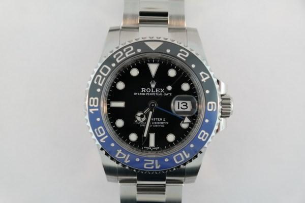"Rolex GMT-Master II 116710BLNR ""Batman"""