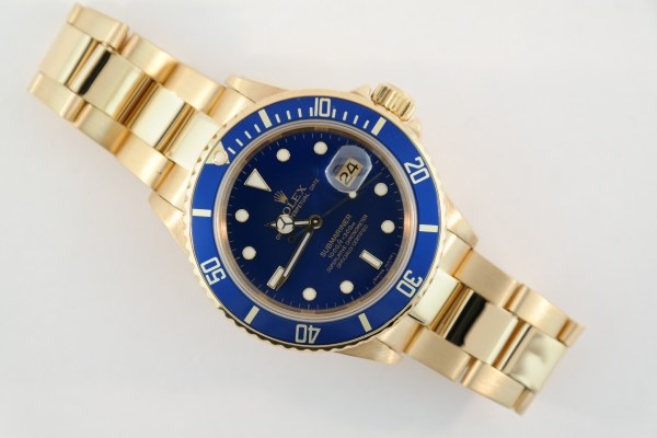 Rolex Submariner 16808 Blue Dial & Bezel