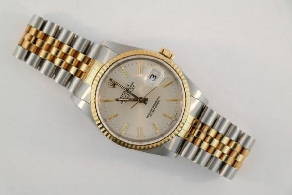 Rolex Datejust 16233 Silver Dial MINT
