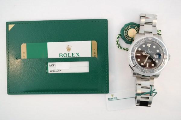 Rolex GMT-Master II 116710LN 2018