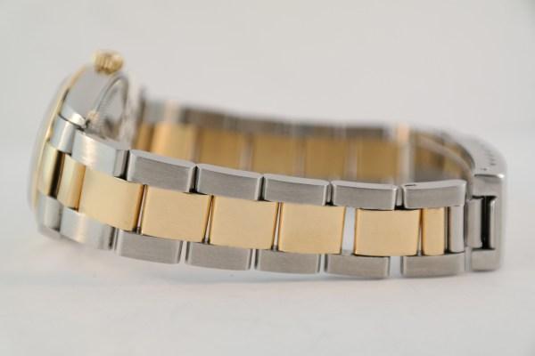 Rolex Midsize Datejust 78243 White Roman Dial