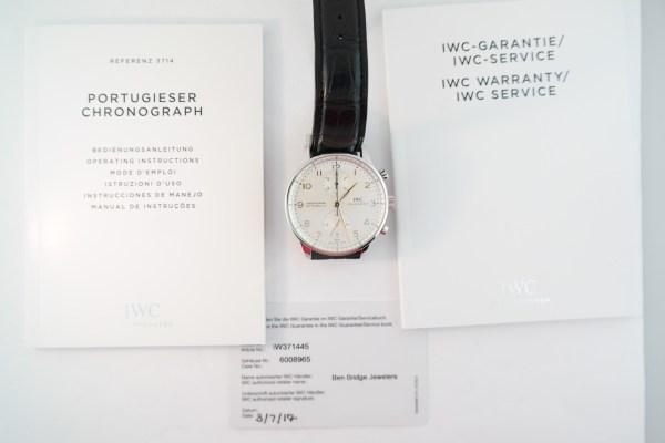 IWC Portuguese IW3714 Chronograph