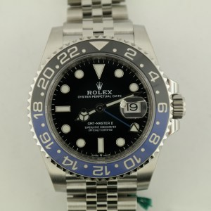 "Rolex GMT-Master II 126710 ""Batman"" Jubilee Band"
