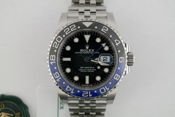"Rolex GMT-Master II 126710BLNR ""Batman"" Jubilee Band Blue & Black Bezel 2020"