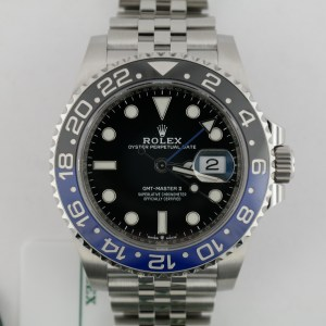 "Rolex GMT-Master II 126710BLNR ""Batman"" Jubilee Band Blue & Black Bezel 2020"