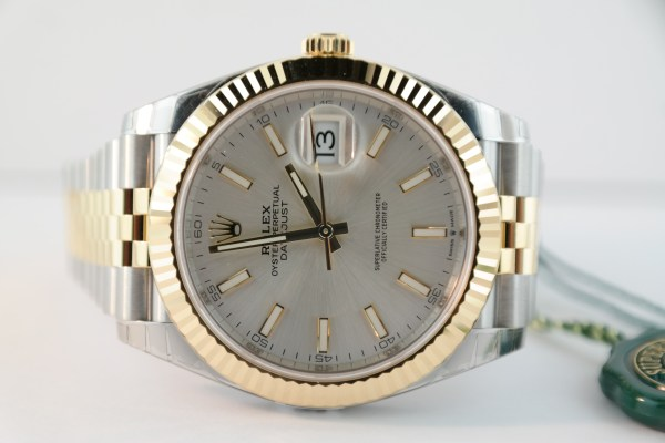 Rolex Datejust 41 126333 Two-Tone Silver Dial Jubilee Band NEW 2019