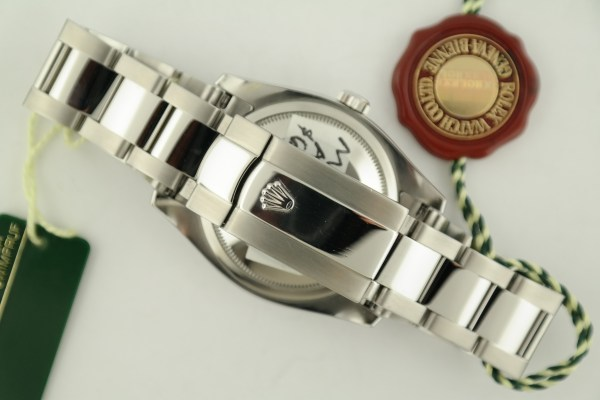 Men's Rolex Datejust 116200 Black Dial Oyster Band Year 2007