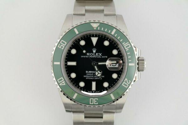 Men s Rolex Submariner Date 126610LV Black Dial Green Bezel 41mm