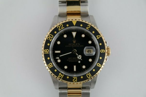 Rolex 18K Yellow Gols and Stainless Steel GMT Master II