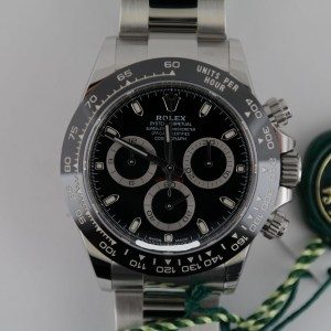 Rolex Daytona 116500LN Black Dial Chronograph Oyster Band Ceramic Bezel