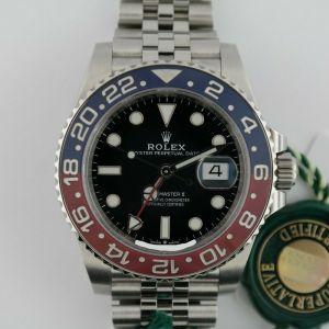 "Rolex GMT Master II ""Pepsi"" Jubilee Band"