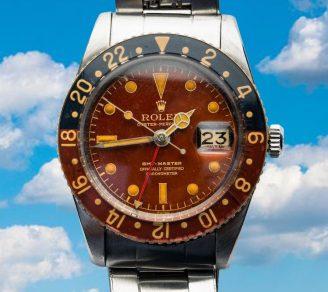 Rolex G.M.T. Master 6542 Bakelite Bezel