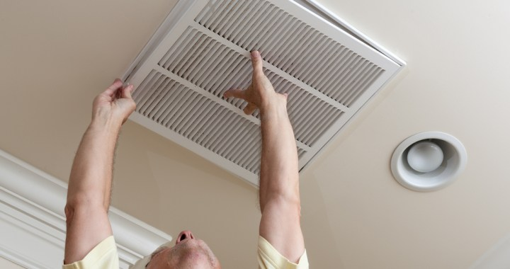 delray beach air conditioning guy installing upward