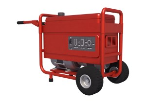 portable power generator for hurricanes