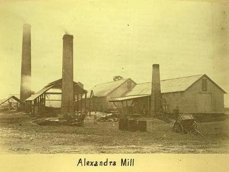 ALEXANDRA MILL: The first built and, after 16 years, the first to close.