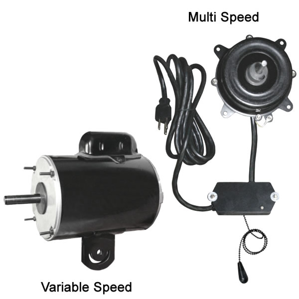 variable speed multi speed exhaust fans