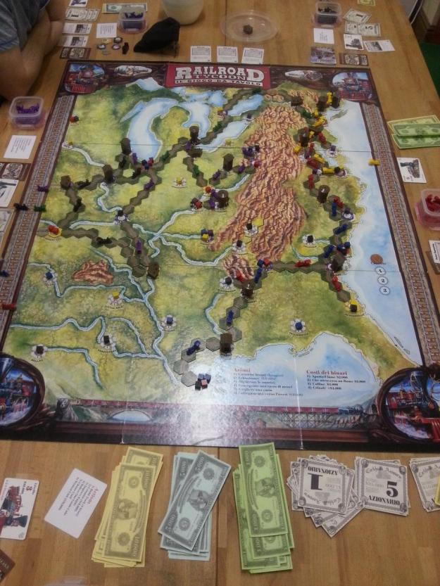 Railroad Tycoon: The Board Game