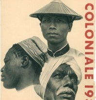 M. Cloche,<i> « 60 aspects de l'exposition coloniale »,</i> Exposition coloniale et internationale de Paris, couverture d'un album photographique imprimé, 1931 © Groupe de recherche Achac / DR