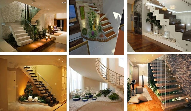 Stairs Design For India House Acha Homes   Staircase Design For Duplex   Unique   Wood   Space   False Ceiling   Contemporary