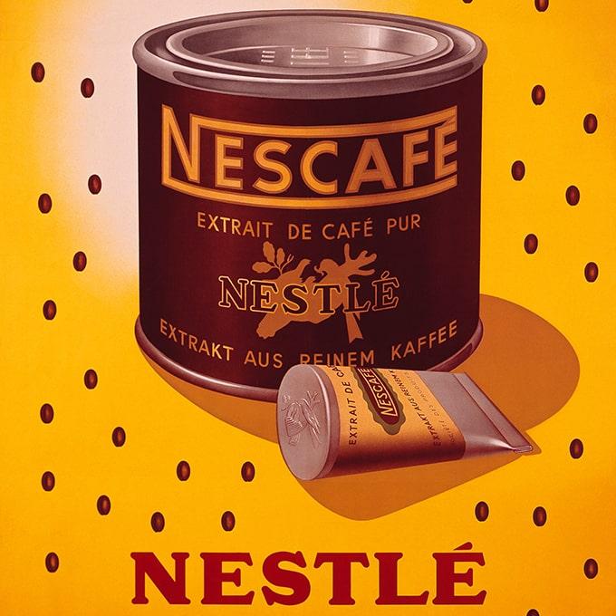Boite de Nescafé de 1938.