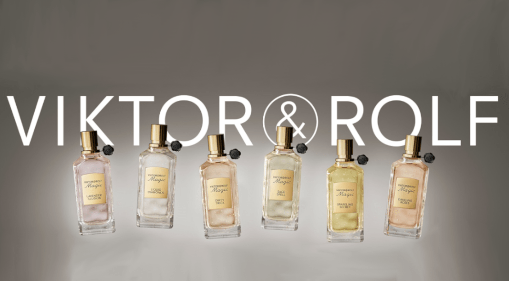 Collection Magic Viktor Rolf Parfums : Dancing Roses, Sparkling Secret, Salty Flower, Invisible Oud, Sage Spell, Dirty Trick, Liquid Diamonds, Lavender Illusion