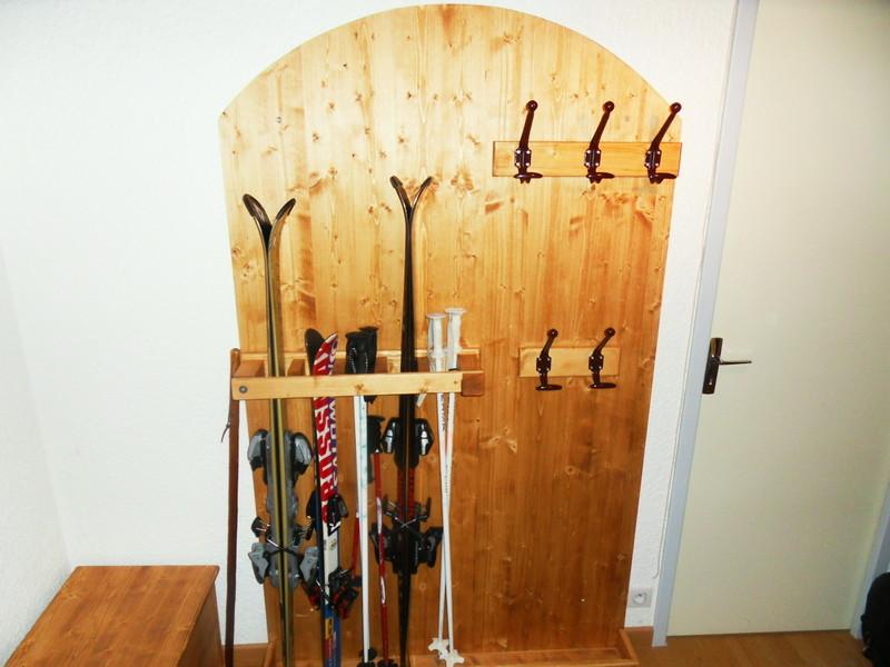 Coffre Et Range Ski Porte Manteaux VERCORS LITERIE