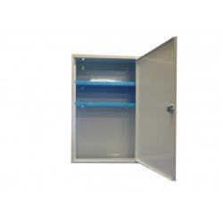 armoire pharmacie metallique vide 1 porte avec serrure