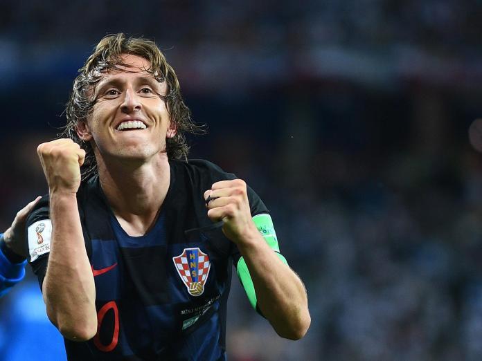 Luka Modric, meia do Real Madrid, está jogando muito pela Croácia