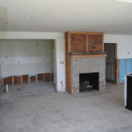Cottage Living Room – Before Remodeling