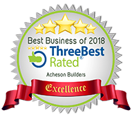badge award art and text Three Best Rated 2018 best business of 2018