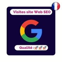 Acheter des visites françaises sur site internet