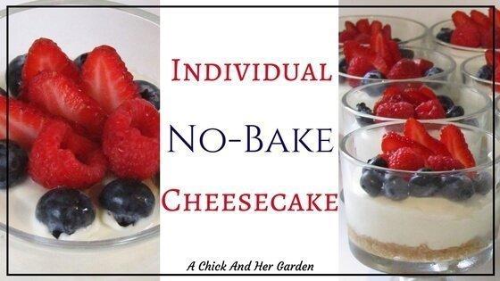 Individual No-Bake Cheesecake Cups
