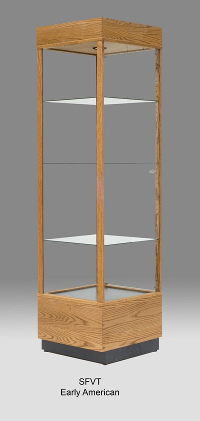 Cases Wooden Large Display