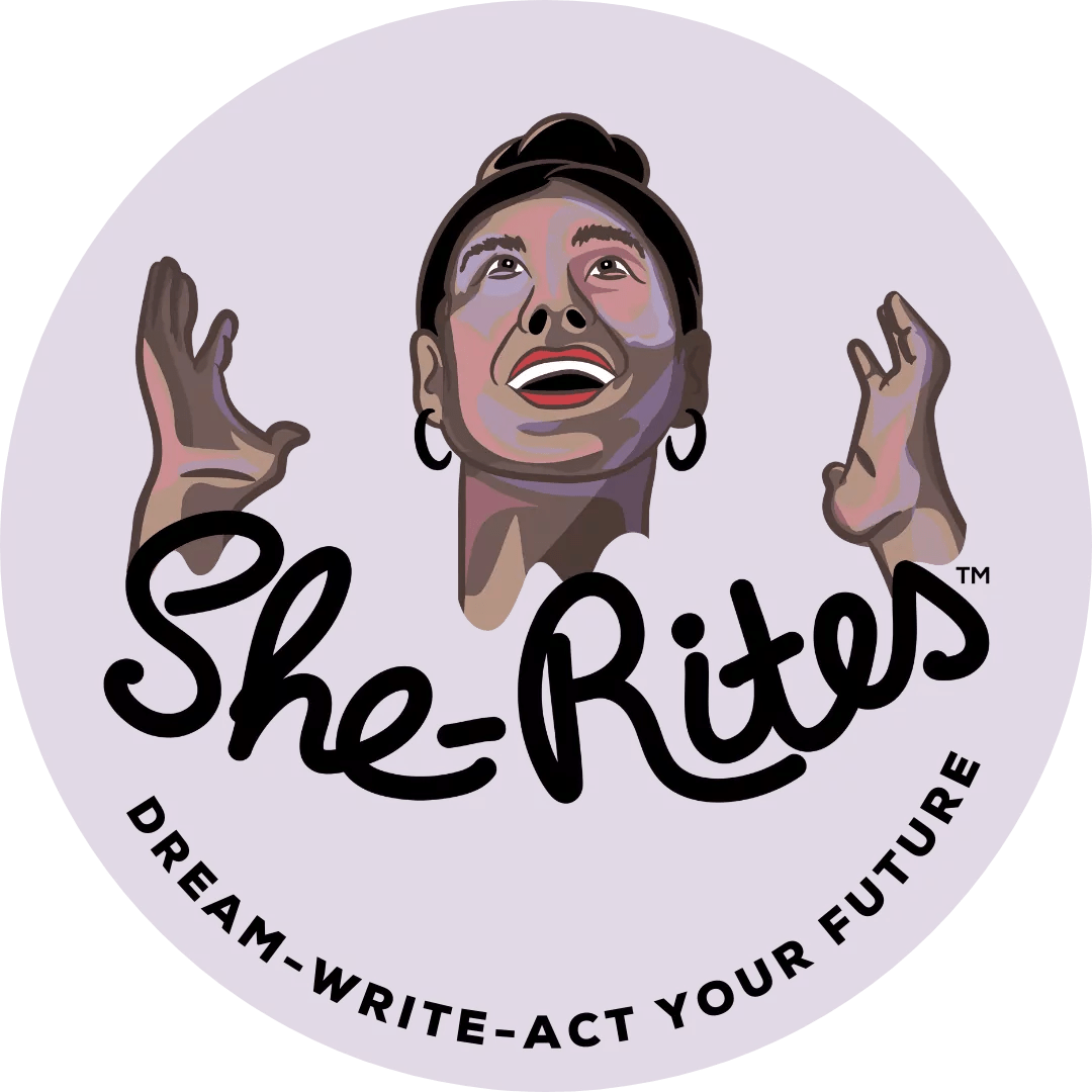 She Rites Logo With Tagline