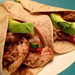 Crock Pot Turkey Mole Tacos