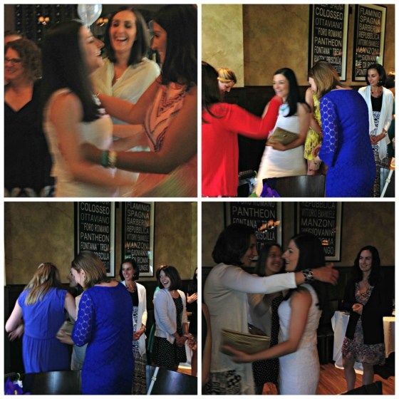 My Bridal Shower: Hugging